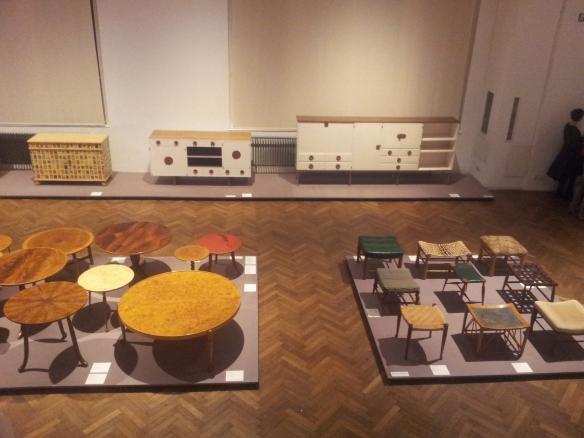 Möbel von Josef Frank im MAK in Wien