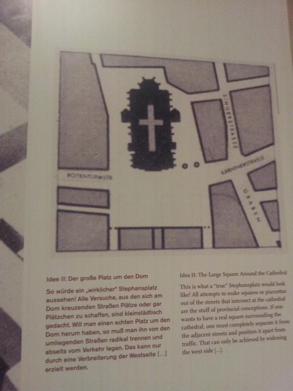Entwurf Josef Franks für den Stephansplatz in Wien